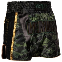 VENUM FULL CAM SPODENKI DO MUAY THAI - FORREST CAMO/BLACK