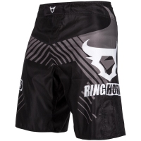 SPODENKI RINGHORNS FIGHTSHORTS CHARGER BLACK BY VENUM