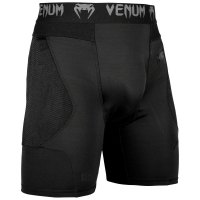 SPODENKI VENUM G- FIT COMPRESSION SHORTS - BLACK