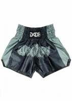 SPODENKI DO MUAY THAI - DAX BLACK/GREY