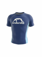 MANTO SHORT SLEEVE RASHGUARD ALPHA NAVY BLUE