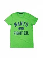 MANTO T-SHIRT FIGHT CO ZIELONY