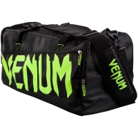 TORBA SPORTOWA VENUM SPARRING - BLACK/NEO YELLOW