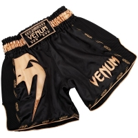 VENUM GIANT SPODENKI DO MUAI THAI - BLACK/GOLD