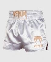 VENUM SPODENKI MUAY THAI CLASSIC WHITE/GOLD