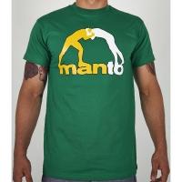 MANTO T-SHIRT CLASSIC ZIELONY