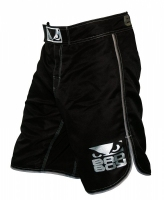 BAD BOY MMA SHORTS CZARNO-SREBRNE